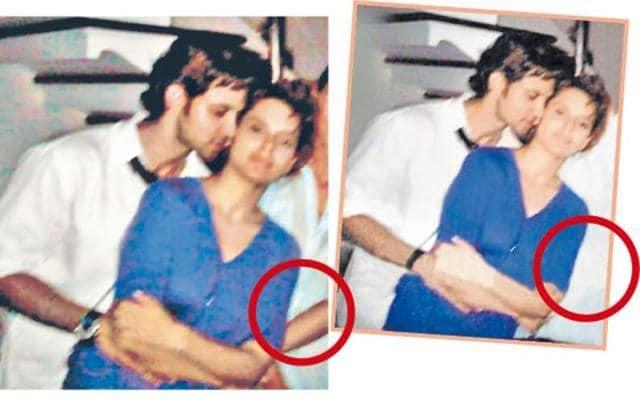 It's photoshopped: Sussanne on Hrithik-Kangana 'intimate
