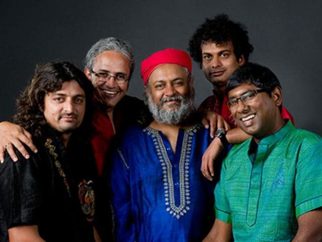 Indian Ocean, the Indian rock band, known for its soul-stirring fusion music.