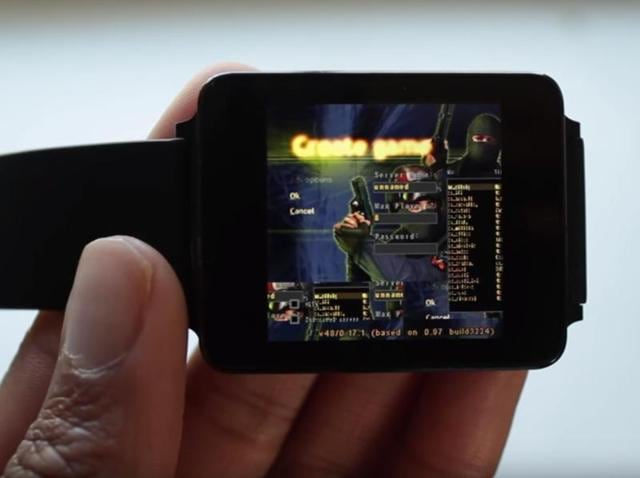 An enthusiast got it running on the Android Wear smartwatch with a little tinkering. So, if you want to try the classic on a tiny screen, here's what needs to be done
