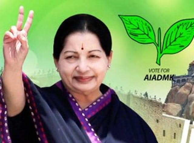 AIADMK supremo and Chief Minister Jayalalithaa is busy criss crossing cities in planes and choppers