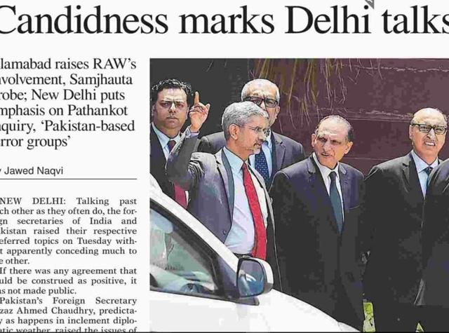 India-Pakistan talks,foreign secretaries,Pathankot attack