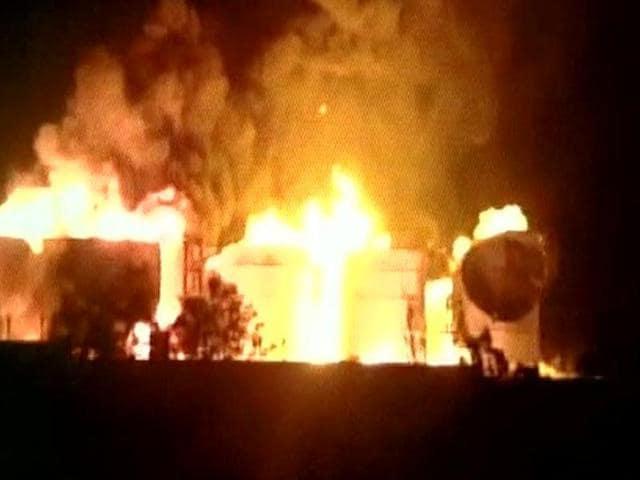Visakhapatnam fire