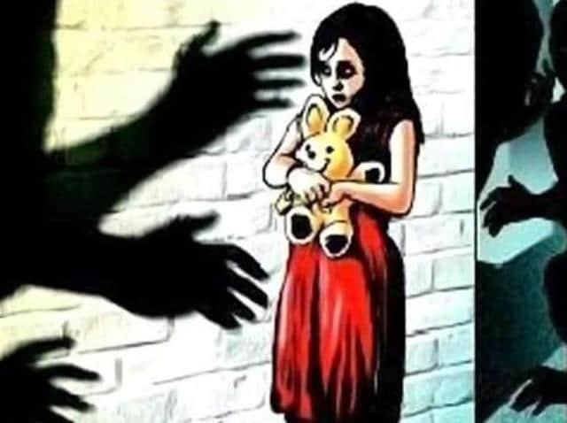 A 35-year-old man was held after he attempted to rape his neighbour's five-year-old daughter .