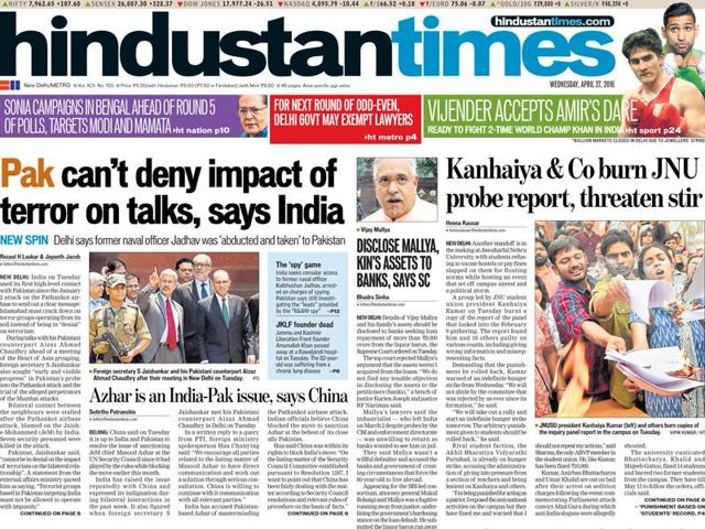 Hindustan Times,HT India's most trusted brand,Brand Trust Report