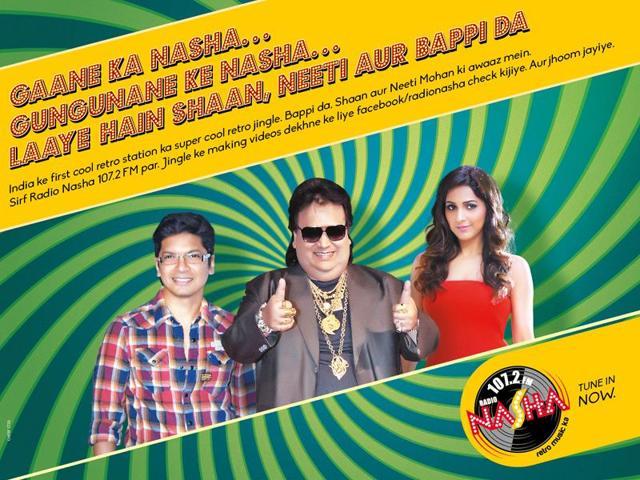 Bappi Lahiri,Radio Nasha,107.2 FM