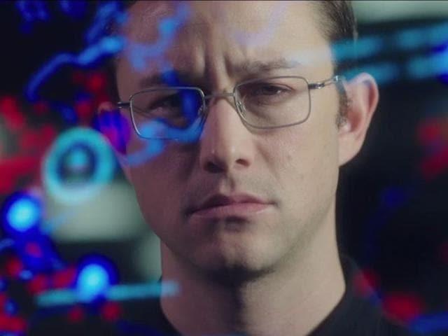 The film, by Academy Award-winning director Oliver Stone, stars Joseph Gordon-Levitt as whistleblower Edward Snowden.