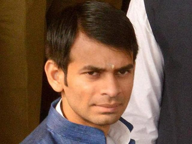 """Sources said the film crew was impressed by Tej Pratap Yadav's dialogue delivery, some even hailing him as """"real-life CM material""""."""