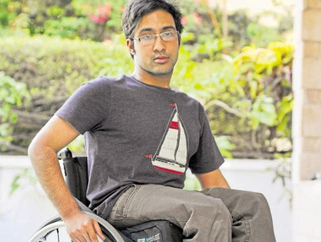 City-based Fateh Mohit Whig says the city is making people like him feel crippled.