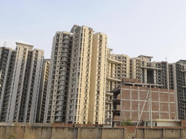 (Representative image) A team from the Noida authority on Tuesday inspected the under-construction PAN Oasis housing project in Sector 70