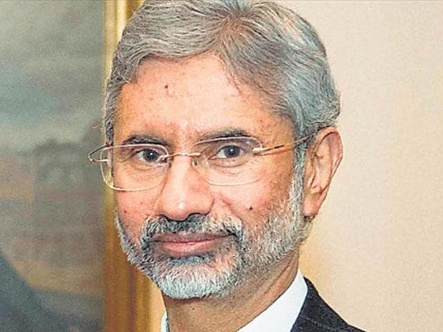 Foreign secretary S Jaishankar left for a two-day trip to Washington late on Tuesday to discuss the agenda for Prime Minister Narendra Modi's forthcoming visit to the US..(HT File Photo)