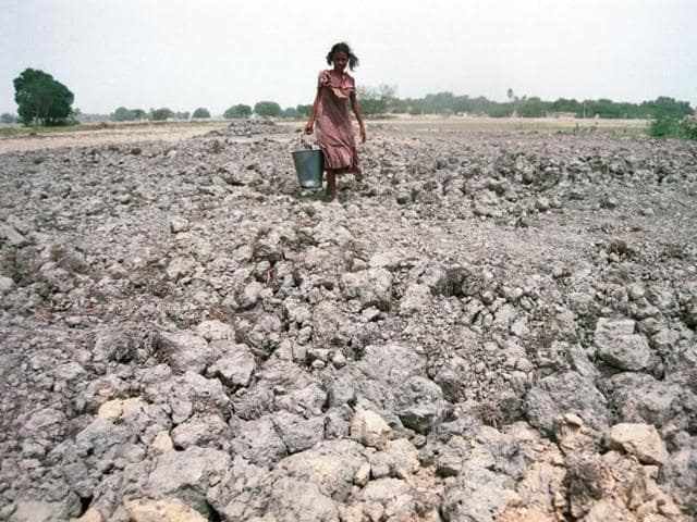 Opposition members expressed concerns over the acute drinking water crisis and rising number of farmers' suicides in the 11 drought-hit states.