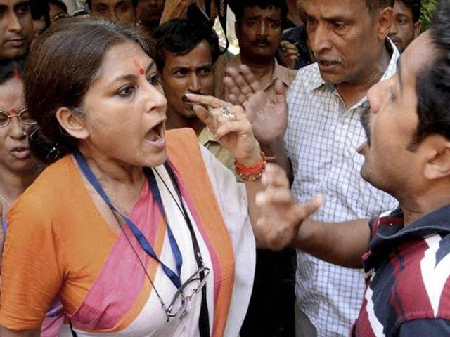 Actress-turned-politician Roopa Ganguly of the BJP, who on Wednesday approached the Election Commission with her grievances, said her complaints regarding the fourth phase of the West Bengal assembly polls were not being addressed properly.