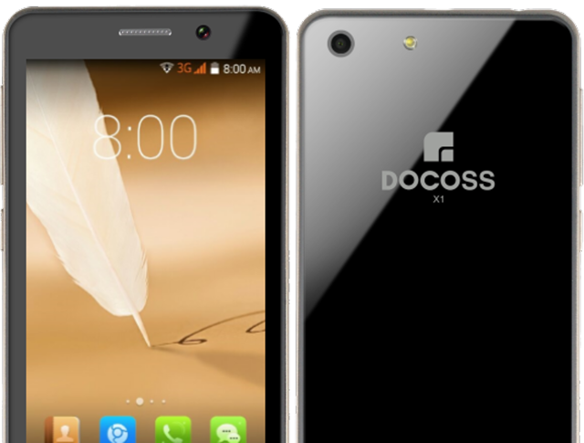 The smartphone features a 4-inch display with 1GB RAM and 4 GB internal storage expandable up to 32GB