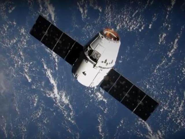 The Dragon spacecraft of SpaceX, technology entrepreneur Elon Musk's rocket company.(SpaceX)