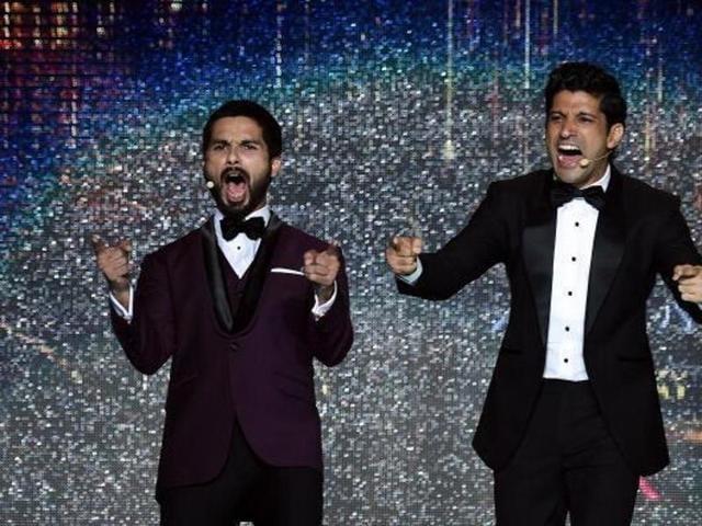 Farhan Akhtar, Shahid Kapoor will return as hosts in IIFA 2016. (HTPhoto)