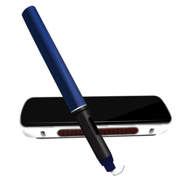 The Electropen 2 records the movement of the pen and recreates the same for your phone