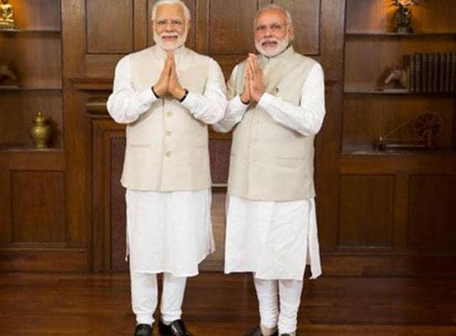 Narendra Modi,wax figure,Baker Street