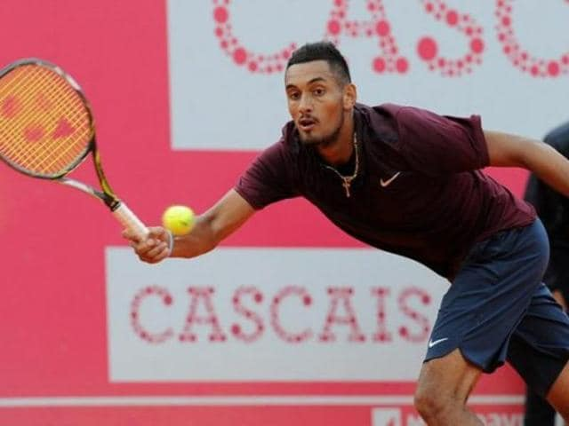 Nick Kyrgios of Australia defeated Inigo Cervantes of Spain 7-6 (4), 7-5 to advance to the quarterfinals.