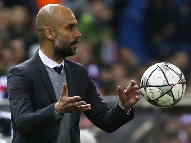 Pep Guardiola,Bayern Munich,Atletico Madrid
