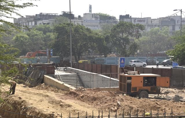 The Kalkaji Mandir Metro station is all set to emerge as a premier interchange hub after the completion of Phase 3 with direct connectivity from Faridabad to Noida.
