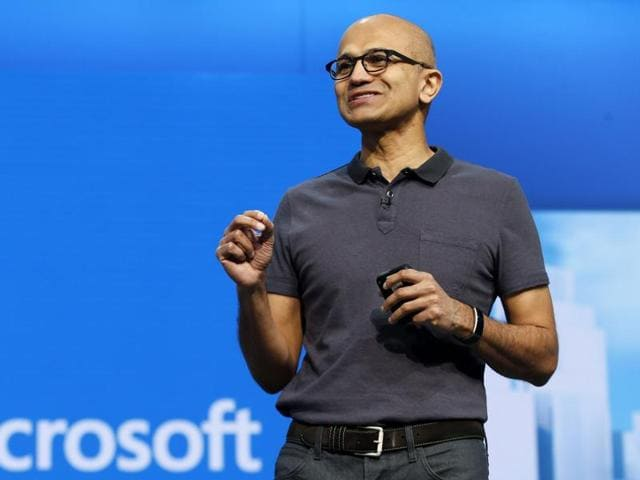 Microsoft chief executive Satya Nadella ranked 26th in the list of  100 highest paid CEOs in the world.