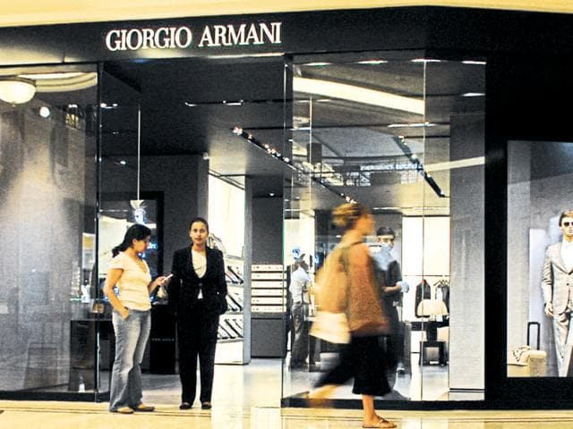 Armani Exchange, Cole Haan to dress up India | business ...