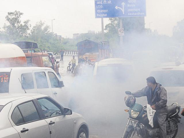 Air quality in Delhi worsened on Thursday morning, with the four stations that monitor both particulate matter 2.5 and 10 falling in the 'highly polluted' category.