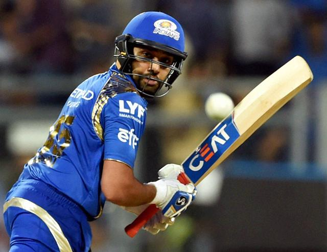 Rohit Sharma was named man of the match for his 49-ball 68.