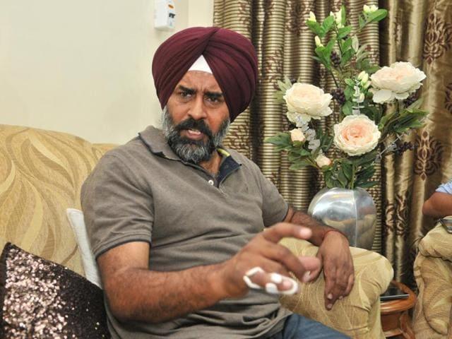Shiromani Akali Dal (SAD) Jalandhar Cantonment MLA and former Indian hockey captain Pargat Singh