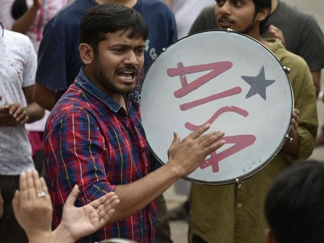 A petition sought the cancellation of Kanhaiya Kumar's interim bail claiming his speeches and actions were anti-national and hence in violation of his bail conditions.
