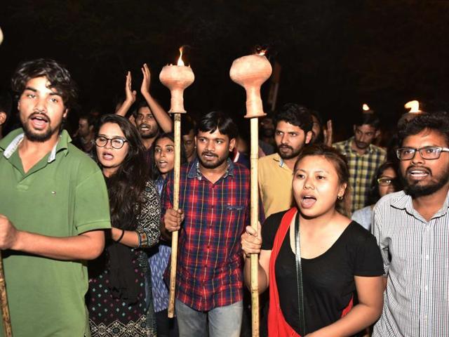 JNU sedition row
