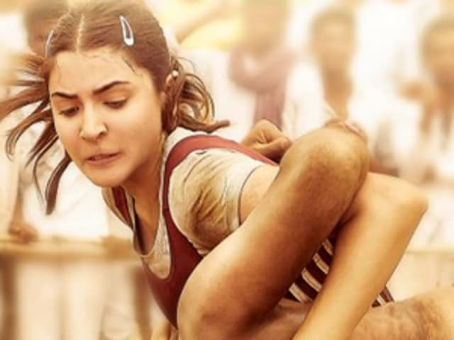 Anushka Sharma's first look as a wrestler Aarfa in Sultan.