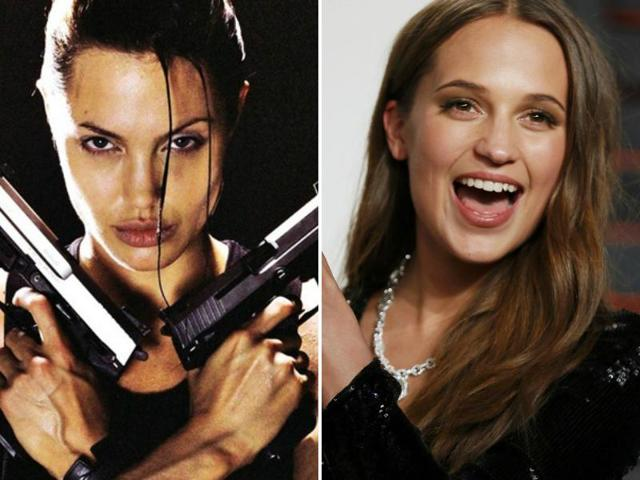 Alicia Vikander is taking over the role, played by Angelina Jolie in 2001 (Lara Croft: Tomb Raider) and 2003 (Lara Croft Tomb Raider: The Cradle of Life).