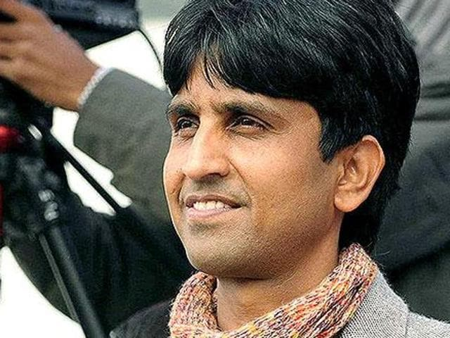 AAP leader Kumar Vishwas to be face of anti-drugs campaign by party in Punjab, Delhi.(HT File Photo)
