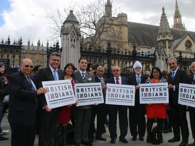 Several Indian-origin MPs and members of the House of Lords declared themselves firmly in the Remain camp