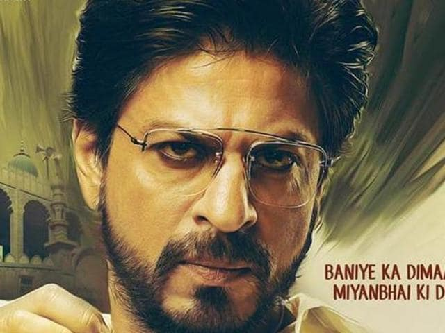 The film, starring Shahrukh, Nawazuddin Siddiqui and Mahira Khan, tells the story of Raees Khan, a bootlegger who operated in 1980's Gujarat. It will release on July 3. (YouTube)