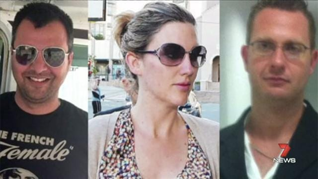 Sam Dhody (left), Melissa Shaw (middle) and Adam Gooley (right)