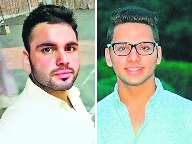 A combination photo of Sourav Duvedi (L) and Rachit Grover  (R).