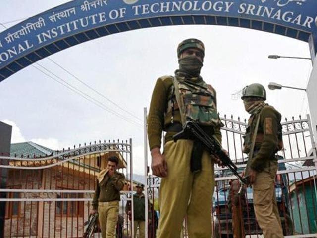 NIT Srinagar,24x7 police helpline,students' grievances