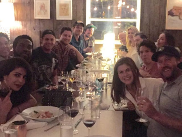 Priyanka Chopra and the Baywatch cast, united.
