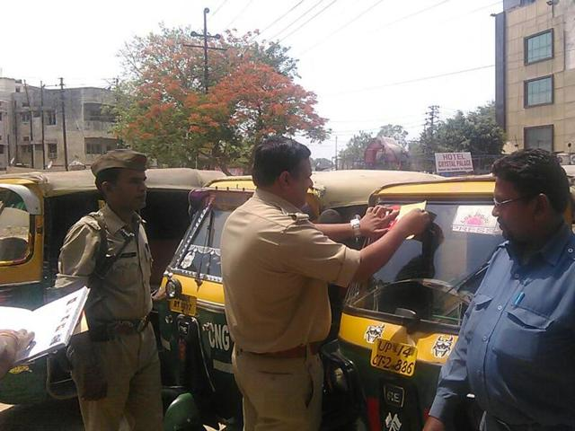 The coding process is meant allow police to keep tabs on auto drivers and trace their vehicles easily in case of any complaint.
