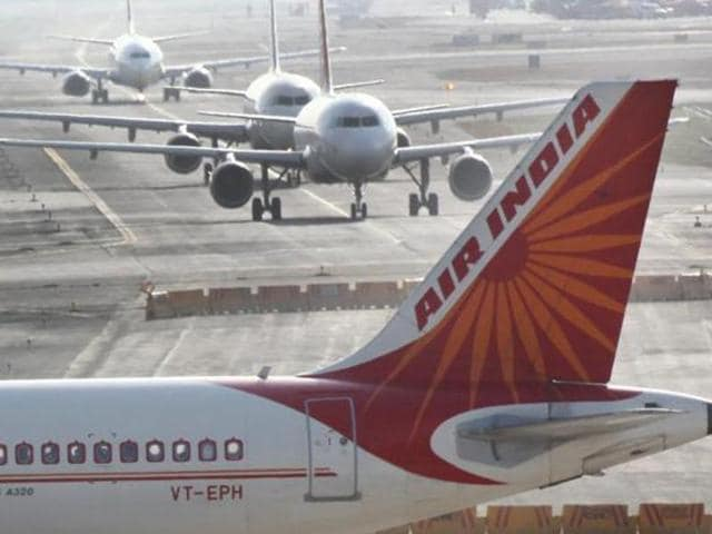Air India had reported losses of Rs 5,859.91 crore in the fiscal ended March 31, 2015.