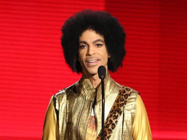 File photo of Prince performing during the half-time show at the Super Bowl XLI in Miami in 2007. Prince died on April 21 at his studio outside Minneapolis.