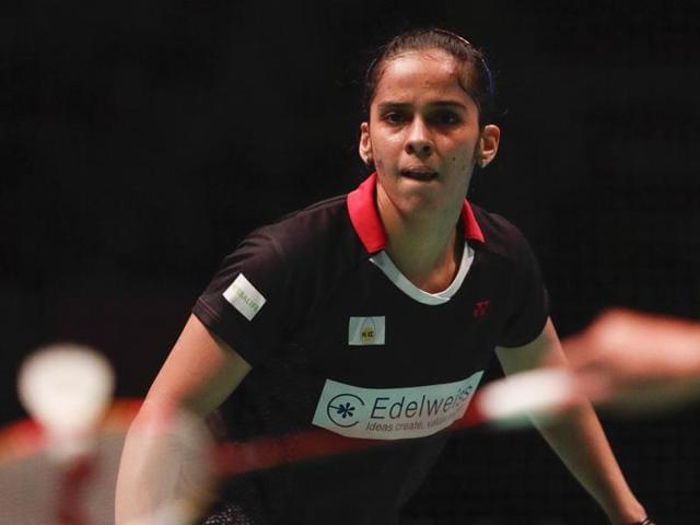 Afile photo of Indian badminton star Saina Nehwal.