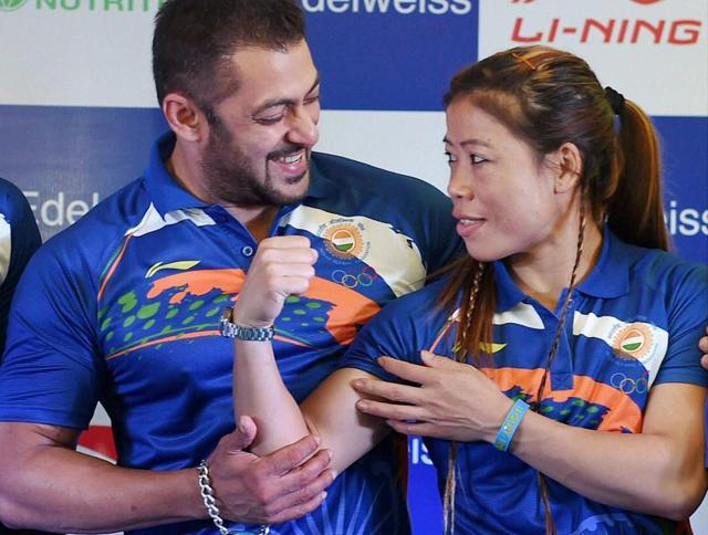 Bollywood actor Salman Khan has been announced as the Goodwill Ambassador for the Indian contingent at this year's Rio Olympics, which will be held in August.
