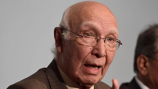 Pakistan will maintain minimum nuclear deterrence for balancing the strategic stability in South Asia, Prime Minister's advisor on Foreign Affairs Sartaj Aziz said on Tuesday, amid mounting international pressure on the country to slow down its atomic programme.