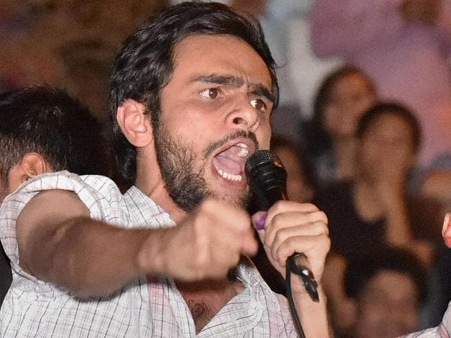 Umar Khalid is already under rustication in connection with the February 9 Afzal Guru event.