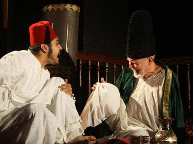 Ghalib, the play by Pierrot's Troupe, portrays four phases of Mirza Ghalib's life.