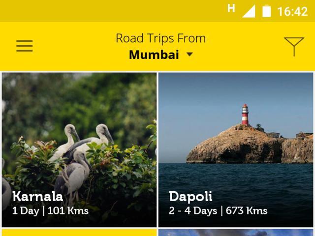 Now, an app to help you plan road trips around Mumbai