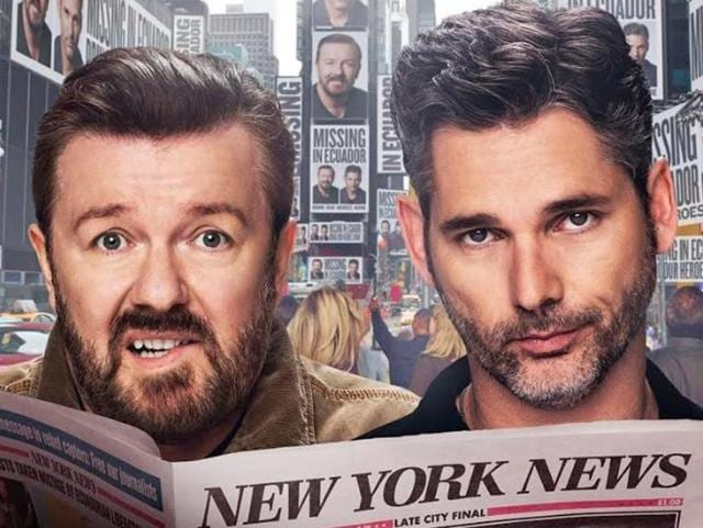 Special Correspondents review: Is Ricky Gervais Adam Sandler